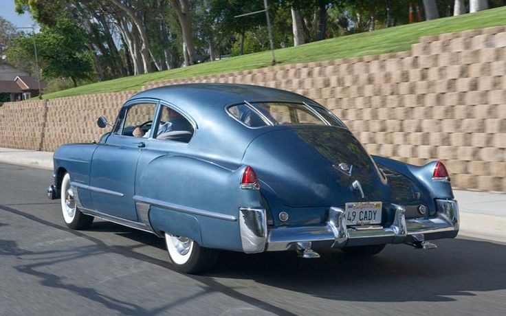 1949 Cadillac Series Sixty-Two Sedanette Coupe