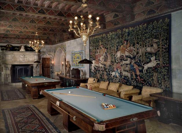 men's billiard room | The Libraries, Studies, and Writing Rooms of 15 Famous Men