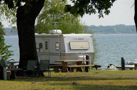 Bens campground lake texoma state park 20 per night for for Camping cabins in oklahoma