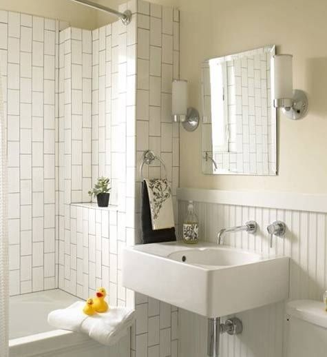 Going Vertical With Subway Tile