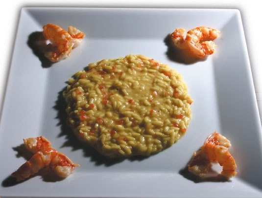 Hsiao Chin, Riso al curry, Gualtiero Marchesi