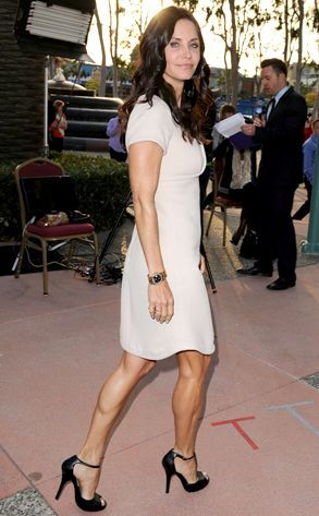 courtney cox  high heels hobby including celebrities who