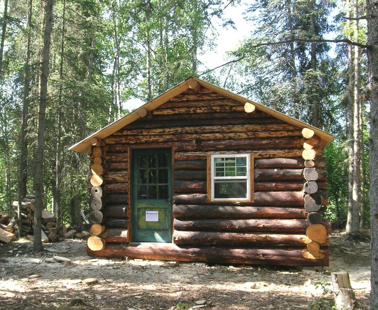 521 best a cabin in the bush images on pinterest log for Alaska cabin builders