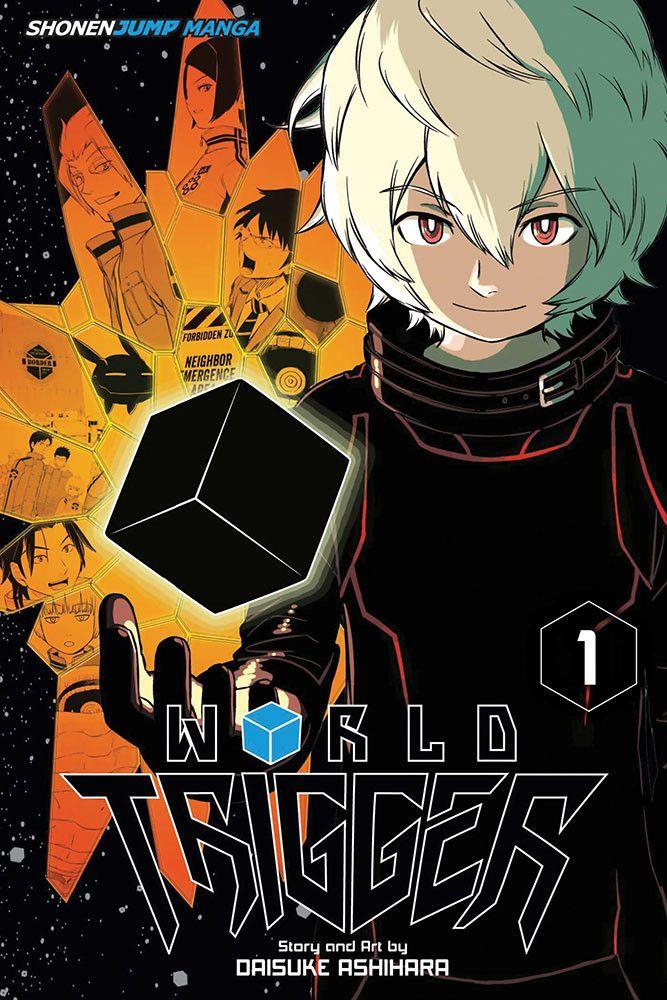 World Trigger Manga Volume 1 Anime, Manga covers, Star