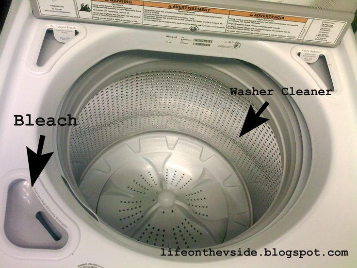 Stinky washing machine? Problem solved!    How to get rid of the yucky washer smell