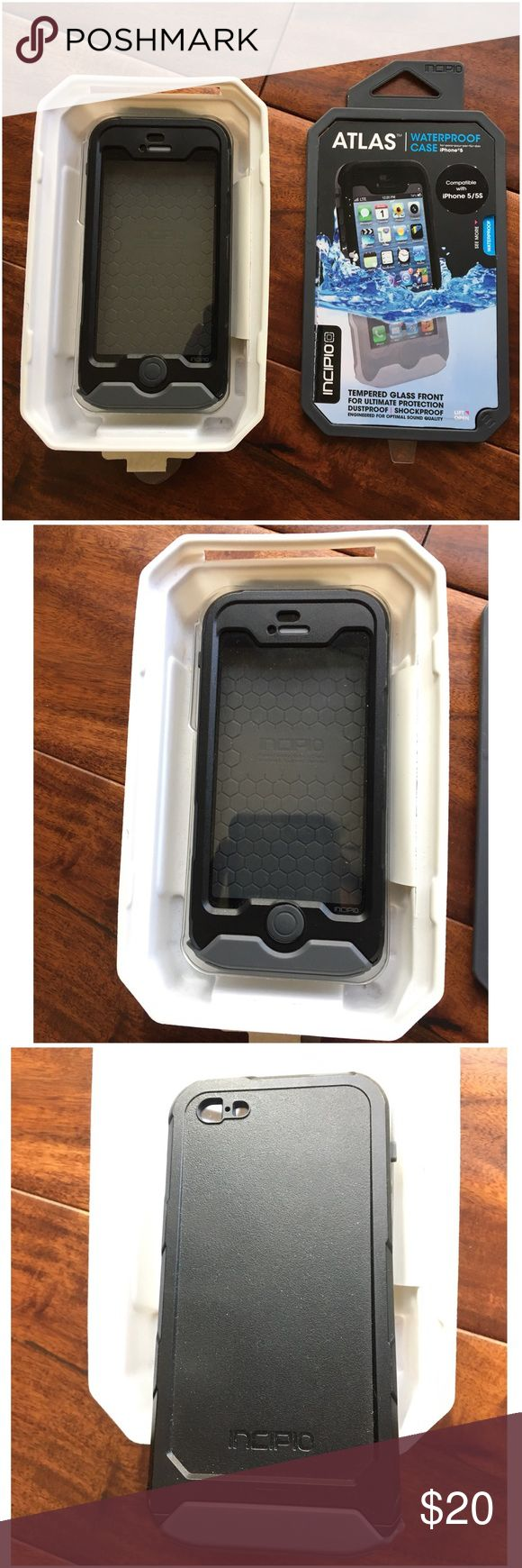 Atlas Incipio Waterproof iPhone 5 case EUC Used once. Comes with original packaging.  Ask ALL questions before buying, sales are final. I try to describe the items I sell as accurately as I can but if I missed something, please LMK FIRST so we can resolve it before you leave < 5🌟rating.   🚫TRADES/OFFLINE TRANSACTIONS/SPAM COMMENTS 🚫LOWBALLING (Please consider the 20% PM fee) ✅Use OFFER BUTTON please  🚭 & 🐶 Free home Atlas  Accessories Phone Cases