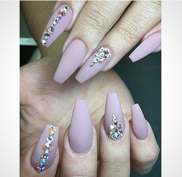 26 best Rhinestone nails images on Pinterest | Nail design, Nail art ...