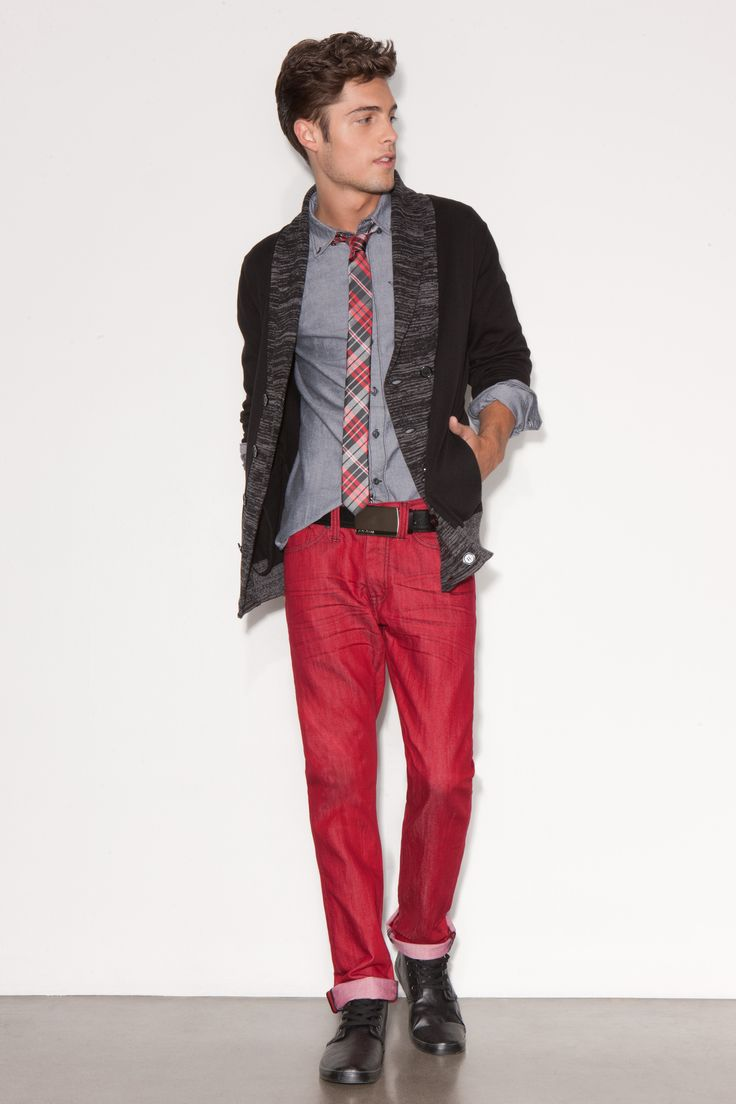 33 best Men's Red Pants images on Pinterest | Men fashion, Red and ...