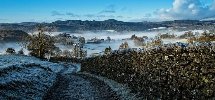 Far Sawrey on a Frosty Morning - #Explored