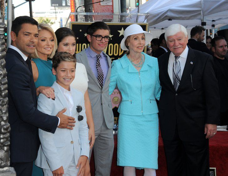 Pin for Later: Kelly Ripa's Family Beams With Pride at Her Hollywood Walk of Fame Star Ceremony