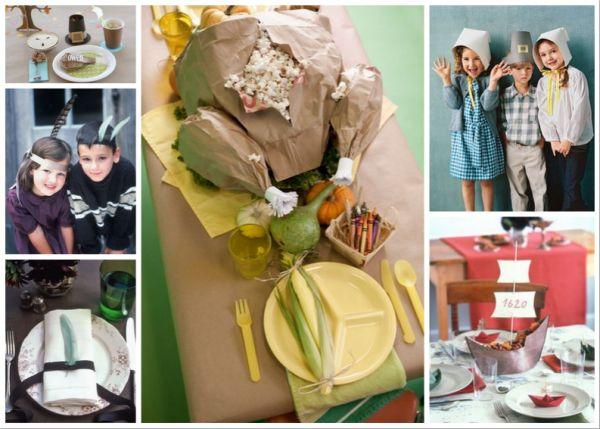 trendy thanksgiving decor for kids