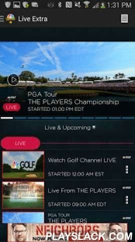 NBC Sports Live Extra  Android App - playslack.com ,  With NBC Sports Live Extra you can watch all of your favorite sports content on the go through your Android phone or tablet. Access to over 3,000 NBC Sports, NBCSN, Golf Channel and Comcast Sports Netw https://www.fanprint.com/stores/nascar-?ref=5750