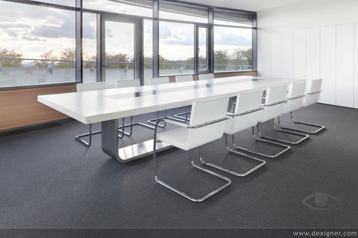 Thonet S 8000 Conference Table System 02