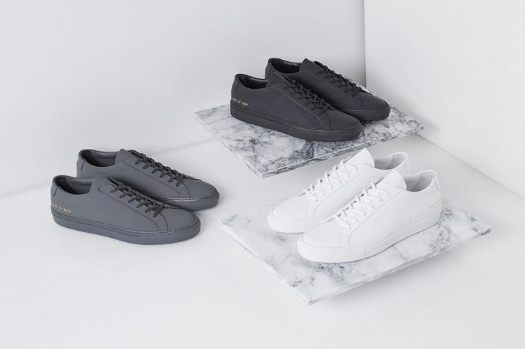 Common Projects' 2016 Fall/Winter Range Is Minimalism at Its Finest
