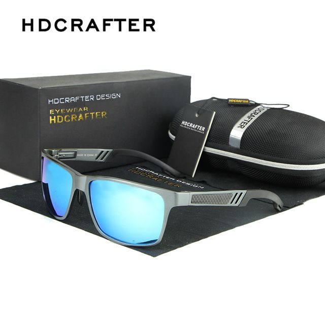 ZX Retro Pilot Sunglass, Hommes Polarized Mirrored lunettes de soleil lunettes de soleil marque designer lunettes oculos de sol (Couleur : Golden)