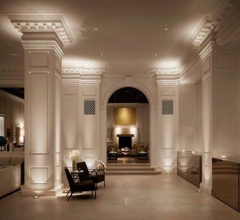 101 best images about regal interiors on pinterest for Hotel decor chicago