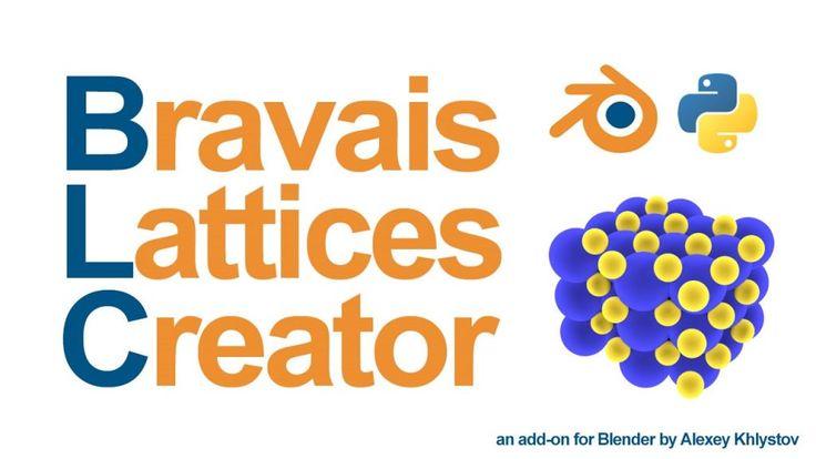 Add-on: Bravais Lattices Creator
