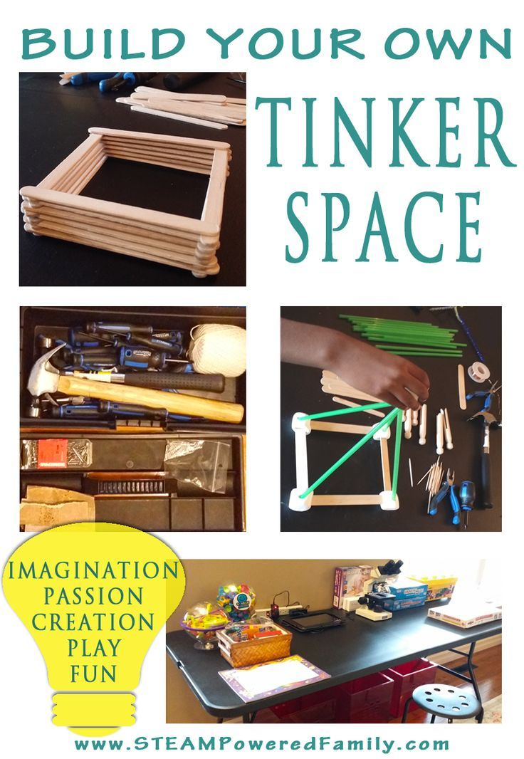 """Build Your Own Tinker Space And Ignite Creativity, Passion, Imagination, Play And Fun! Recommended by Sumita Mukherjee"""" author of keiko and kenzo educational adventure books. www.keikokenzo.com"""