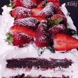 Συνταγή: Γλυκό με φράουλες και σοκολάτα | Συνταγούλης