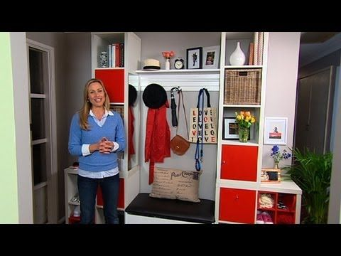 Better Homes and Gardens - Decorating: the front entrance - YouTube