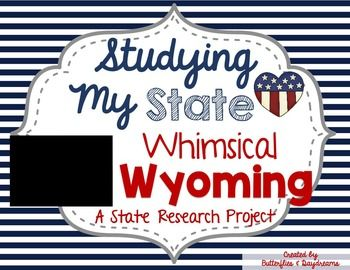 This interactive, printable booklet is a fun way for your students to study the state of Wyoming. The booklet totals in 10 pages on the inside with a front and back cover. The pages are copied back to back and then folded to form a booklet in a brochure style format.