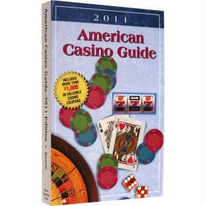 2011 American Casino Guide. This comprehensive guide covers all the states with casino gambling and lists more than 700 casinos   every casino/resort in the U.S.   Plus, all Indian and riverboat casinos, too!You ll have all this money-saving information in a convenient, easy-to-read format!Features include:Every casino s toll-free phone number and web site addressComprehensive listing of room and suite ratesComplete dining information, including the prices of buffetsA …