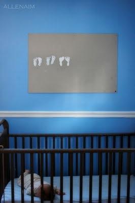 Show Tell Share: SPOTLIGHT - Baby Footprints: Stuff, Baby Feet, Foot Prints, Cute Ideas, Growth Charts, Canvas, Kids, Baby Footprints, Crafts