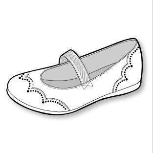 S/S 15 Design Direction: Girls' Footwear Key Items - Mary Jane