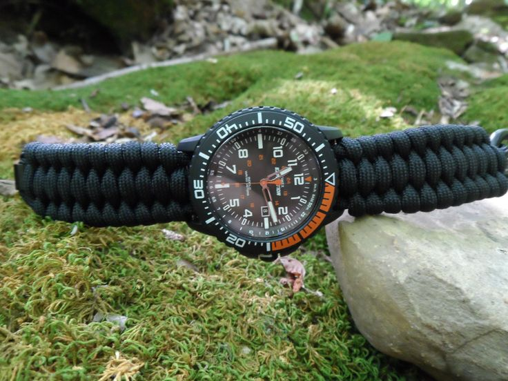 NEW! Timex Expedition Military Style Watch w/ Paracord Band & Side Release Buckl