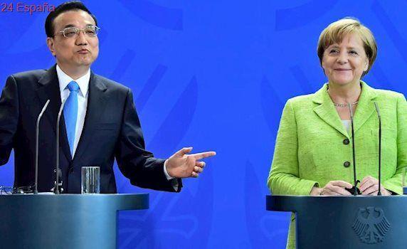 """Alemania pide reforzar la relación con China """"en tiempos de inseguridad global"""""""
