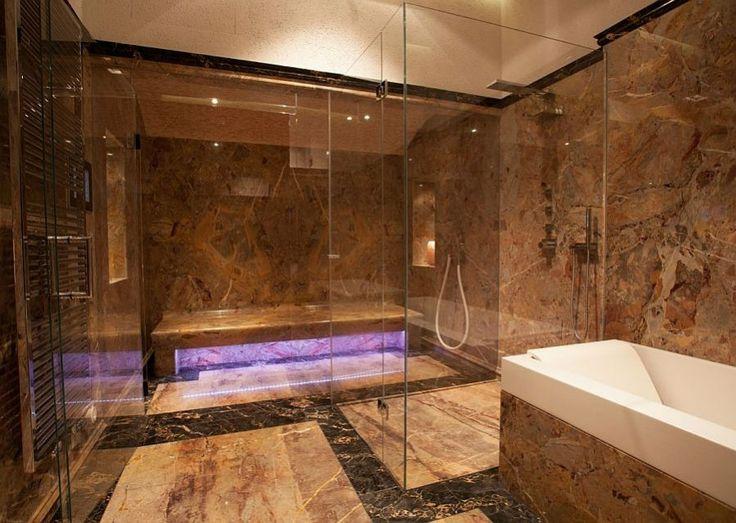 Luxus Marmor Badezimmer Luxus Badezimmer Design.