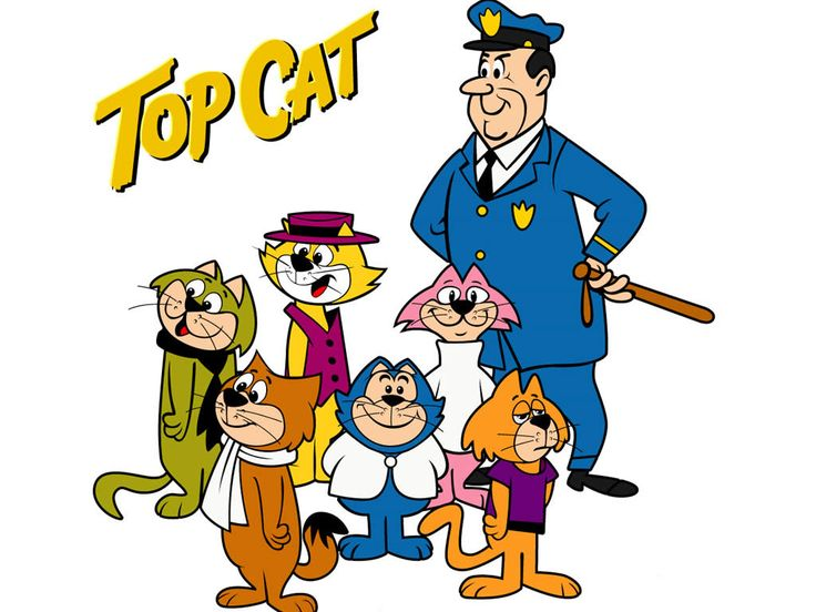 Cartoon Characters 1960s 1970s : Top cat don gato y su pandilla cartoons i love