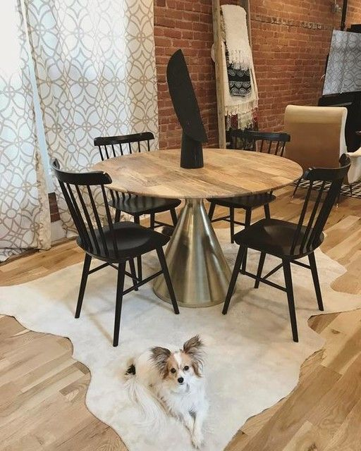 Modern Eclectic Dining Room!