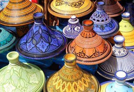 Jewel tones of Morocco