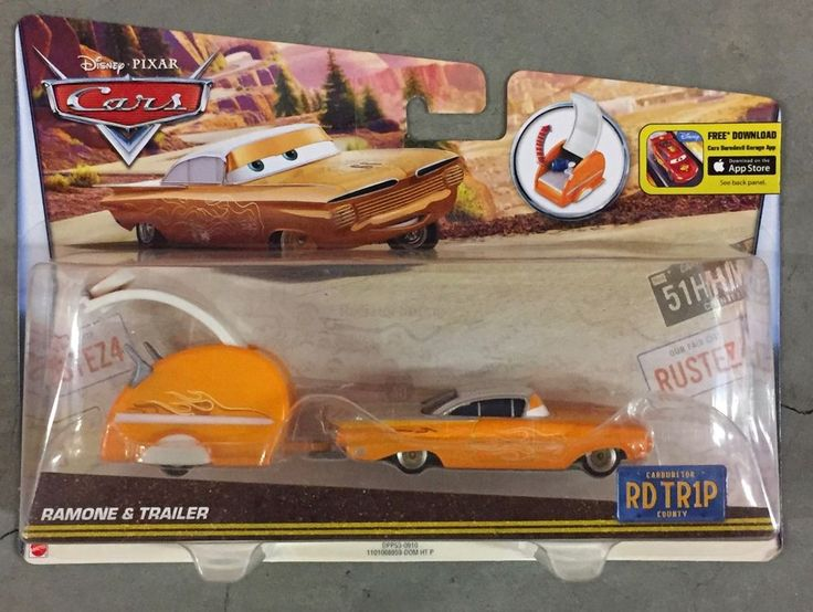 Disney Pixar Ramon Lowrider  & Trailer Road trip Series #Mattel