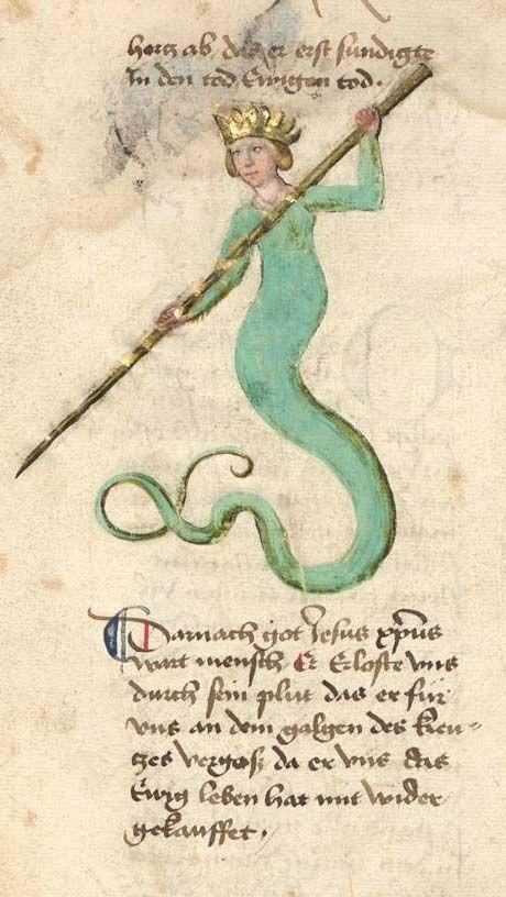 Bayerische Staatsbibliothek, BSB Cgm 598, detail of image 166. Buch der heiligen Dreifaltigkeit