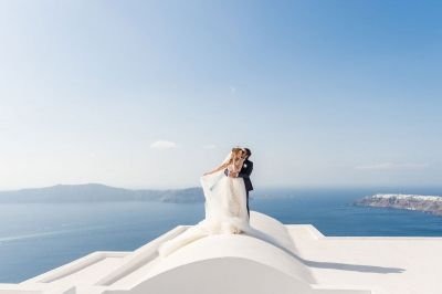 October Wedding in Santorini by Phosart Photography & Cinematography See their wedding story:http://photographergreece.com/en/photography/wedding-stories/886-october-wedding-in-santorini
