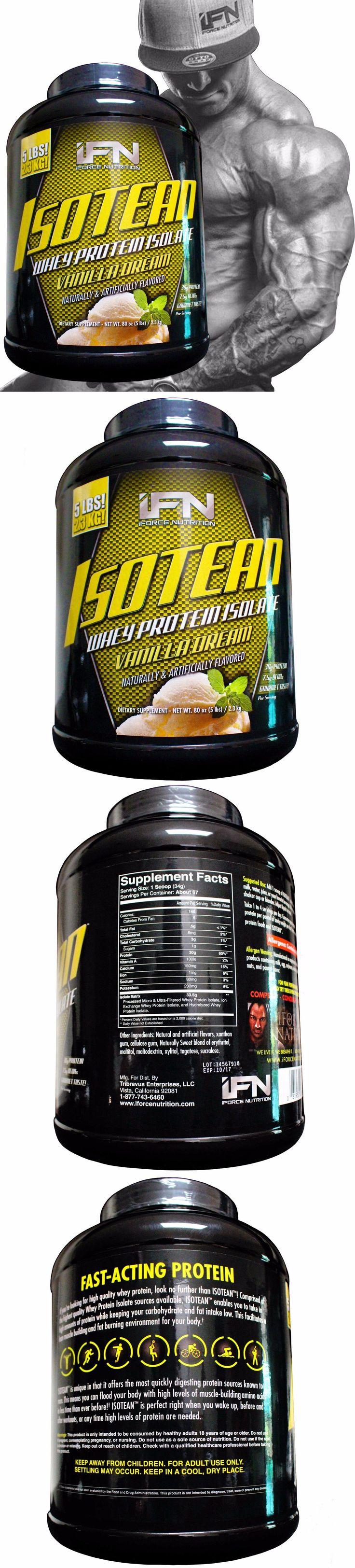 Sports Diet and Weight Loss: 5 Lbs 67 Serv. Isotean Whey Protein Isolate Vanilla Pre Workout, Muscle Builder -> BUY IT NOW ONLY: $51.99 on eBay!