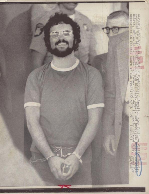 [Symbionese Liberation Army] Wire Photo, SLA Fugitive William Harris - 1975