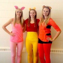 Winnie The Pooh Babes   Diy Halloween Costume Ideas