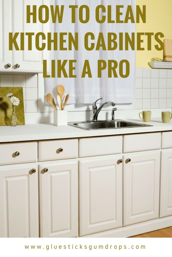 How To Clean Kitchen Cabinets To Get Rid Of Grime And Clutter Best