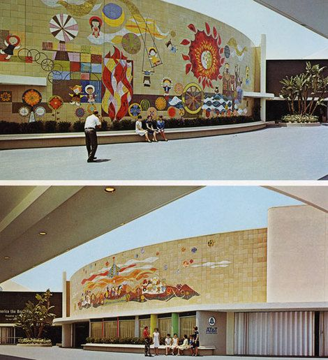 1000 images about the disneyland resort on pinterest for Disneyland mural