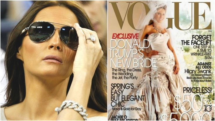 The stunning transformation of Melania Trump: Guess how much Donald Trump spent on her engagement ring and their wedding reception?