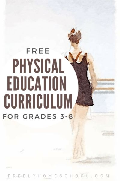 Free Physical Education Curriculum for Elementary & Middle School
