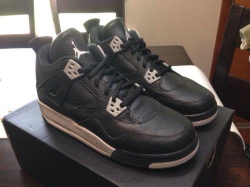 Air-Jordan-Retro-4-Oreo-Size-6Y-GS-Womens-7-5-DS