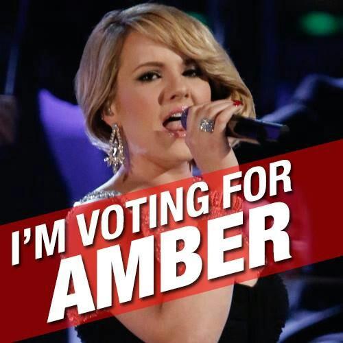 Amber ~ The Voice season 3 was awsome