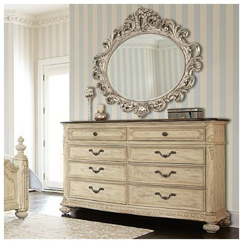 Photo of Jessica Mcclintock Boutique 8 Drawer Dresser with Mirror