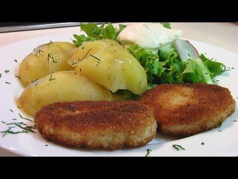 Котлеты из рыбы видео рецепт. Книга о вкусной и здоровой пище (+playlist)