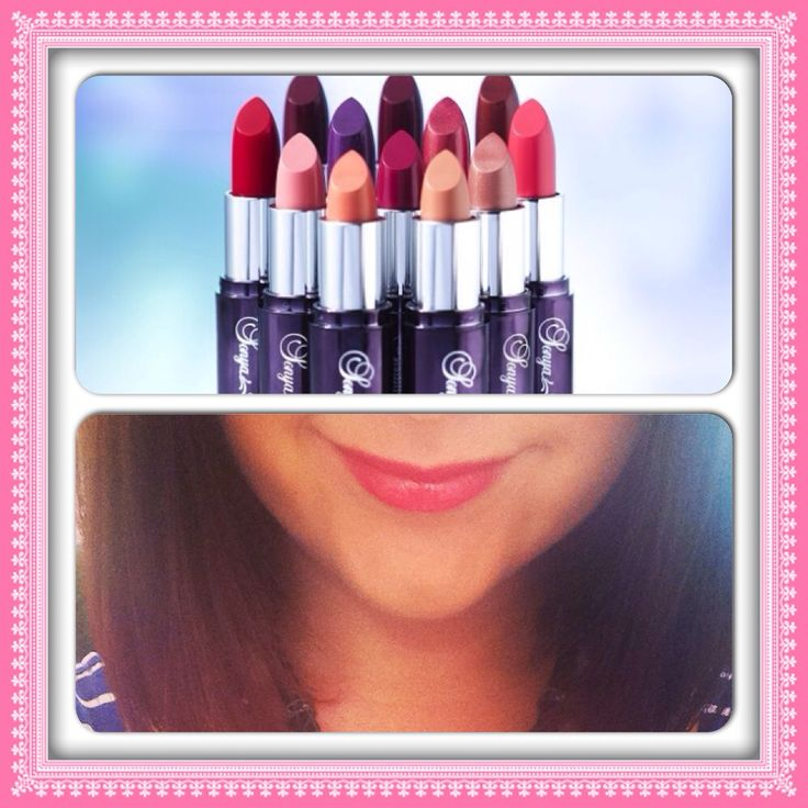 Sonya lipsticks - gorgeous colours to suit all skin tones. My fave is watermelon!!!