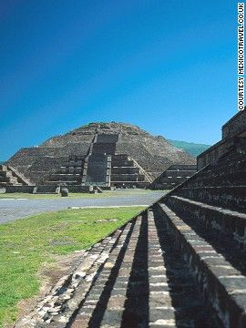 "Teotihuacan is an Aztec name meaning ""the place where men become Gods."" It was the largest city in the pre-Columbian Americas."